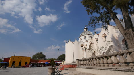 Mexico-Atotonilco-Church-And-Buildings-On-Plaza