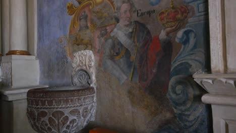 Mexico-Atotonilco-Church-Painting-Of-Europa