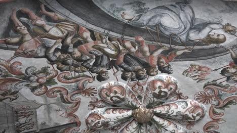 Mexico-Atotonilco-Inside-Church-Tilt-Down