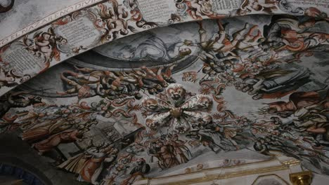 Mexico-Atotonilco-Painted-Ceiling-In-Church
