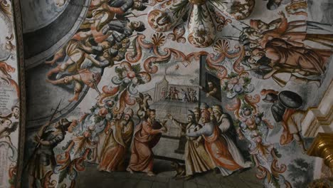 Mexico-Atotonilco-Painting-On-Church-Ceiling