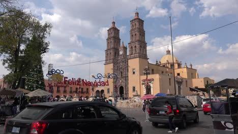 Mexico-Dolores-Hidalgo-Feliz-Navidad-Sign-By-Church