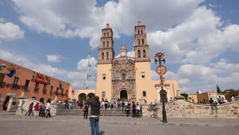 Mexico-Dolores-Hidalgo-Man-Taking-Pictures-Of-Church