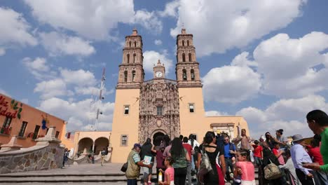 Mexico-Dolores-Hidalgo-People-Going-To-Church