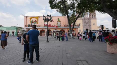 Mexico-Dolores-Hidalgo-Plaza-At-Christmas