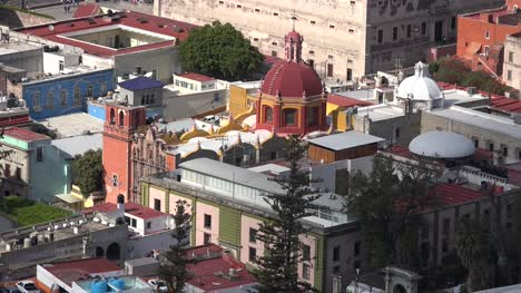 Mexico-Guanajuato-Church-With-Red-Dome