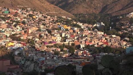 Mexico-Guanajuato-Colorful-Houses-In-Suburb