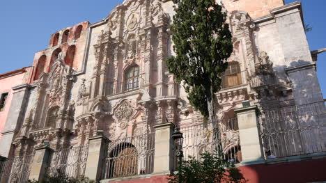 Mexico-Guanajuato-Ornate-Church-Facade