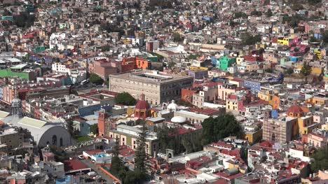 Mexico-Guanajuato-Sun-On-Famous-Fortress