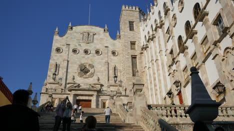 Mexico-Guanajuato-University-Steps