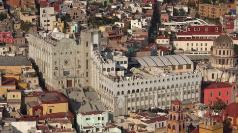 Mexico-Guanajuato-View-With-Many-Buildings