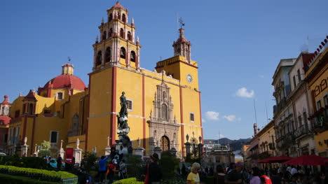 Mexico-Guanajuato-Yellow-Church