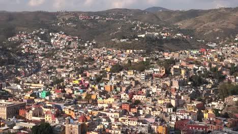 Mexico-Guanajuato-Zoom-In-On-City