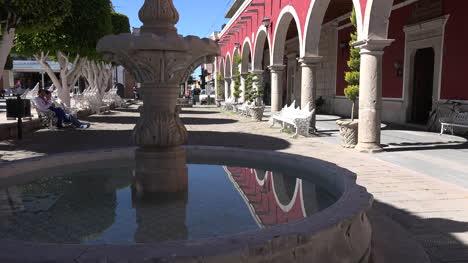 Mexico-San-Julian-Fountain-With-Reflection