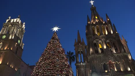 Mexico-San-Miguel-Christmas-Tree-And-Churches