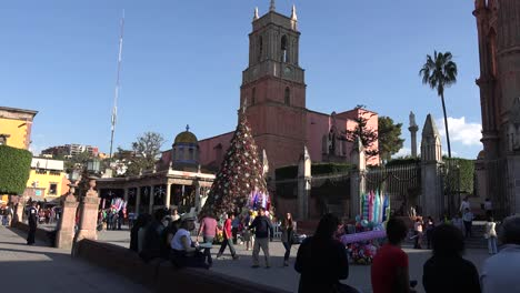 Mexico-San-Miguel-Christmas-Tree-In-Plaza