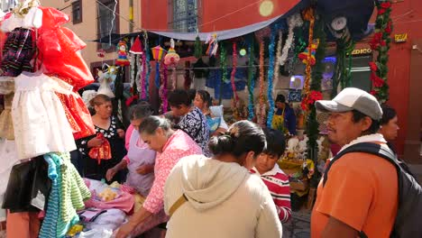 Mexico-San-Miguel-Looking-Down-On-People-In-Market