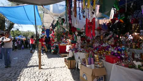 Mexico-San-Miguel-Market-Sun-And-Shade