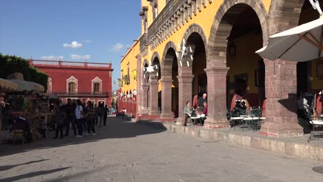 Mexico-San-Miguel-People-On-Plaza-Street