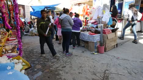 Mexico-San-Miguel-Shoppers-In-Market