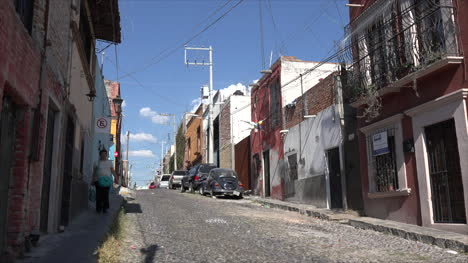 Mexico-San-Miguel-Street-With-Woman