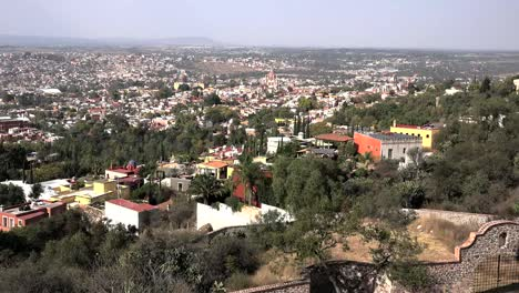 Mexico-San-Miguel-View-Of-City-From-Houses-On-Hill