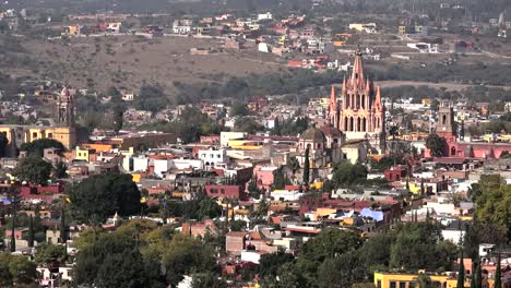 Mexico-San-Miguel-View-Of-City-With-Church
