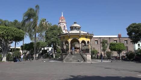 Mexico-Tlaquepaque-Bandstand-Plaza-Jardin-Hidalgo