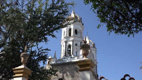 Mexico-Tlaquepaque-Bell-Towers-Of-Our-Lady-Of-Soledad-Church
