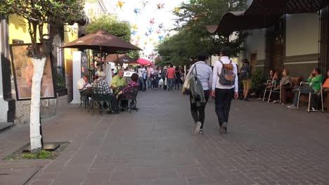 Mexico-Tlaquepaque-Couples-Walk-By