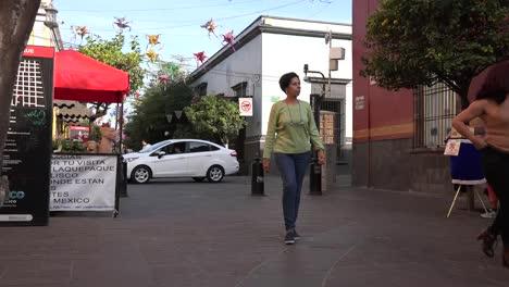 Mexico-Tlaquepaque-Pedestrians