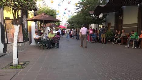 Mexico-Tlaquepaque-People-Walk-Away