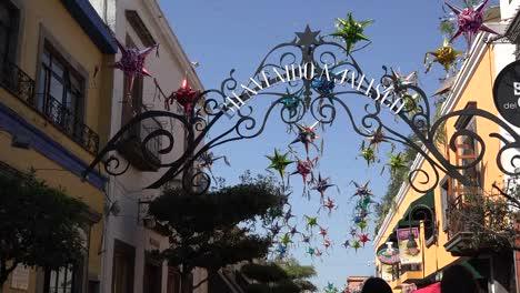 Mexico-Tlaquepaque-Welcome-To-Jalisco-Sign