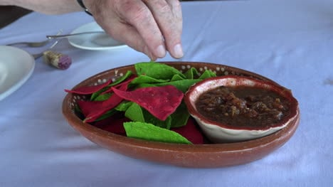 Mexico-Hand-Dipping-Salsa