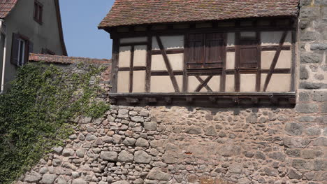 France-Alsace-Dambach-La-Ville-Stone-Wall-And-Window