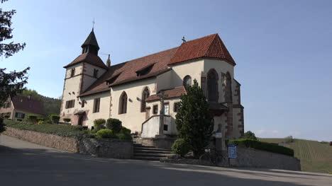 France-Alsace-Chapel-Above-Dambach