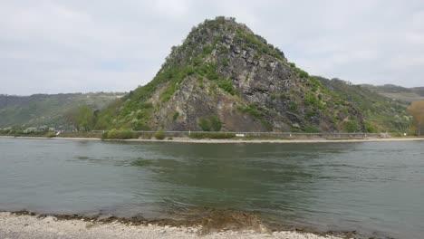 Germany-Rhine-Lorelei-Rock