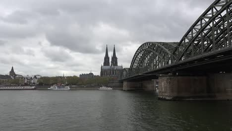 Germany-Rhine-At-Koln