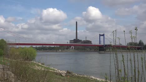 Germany-Rhine-Bridge-At-Duisburg