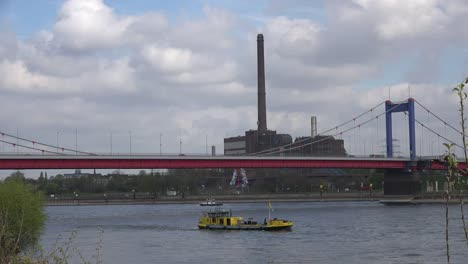 Germany-Bridge-And-Factory-At-Duisburg