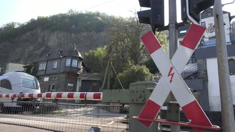 Germany-Train-Goes-By-Fast