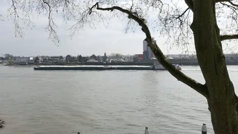 Netherlands-Lek-River-At-Schoonhoven-Pan
