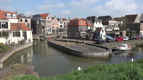 Netherlands-Schoonhoven-Canals-And-Homes