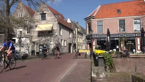 Netherlands-Schoonhoven-Several-Bicycles