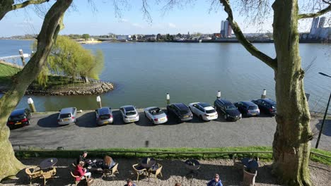 Netherlands-Cafe-By-The-Lek-River