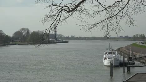 Netherlands-De-Lek-River-Meets-Canal