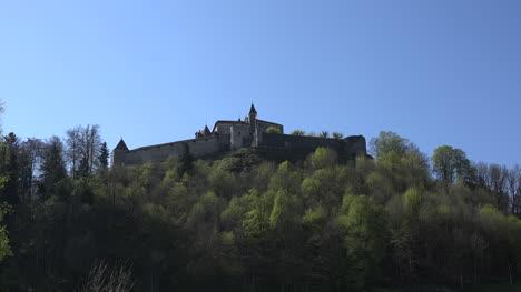 Switzerland-Chateau-De-Gruyeres-Zooms-In