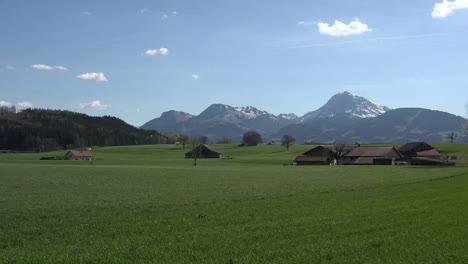 Switzerland-La-Gruyere-Landscape-With-Barn-Zoom-In