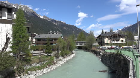 France-Chamonix-View-Of-River