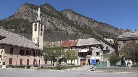 France-Condamine-Chatelard-Church-And-Houses